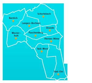 Wuppertal Karte Stadtteile.Fensterreinigungs Touren In Herten Fensterreinigung